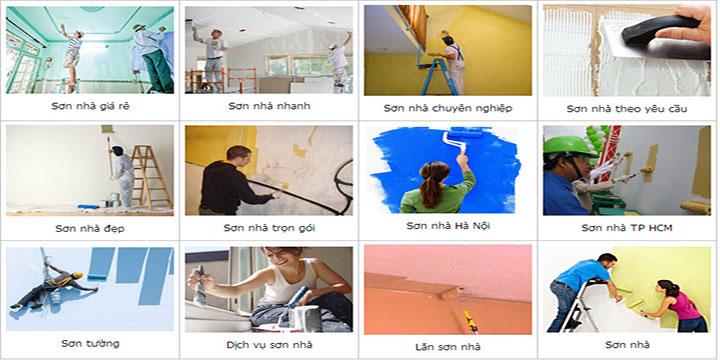 Thợ sơn nhà tại quận 6 uy tín