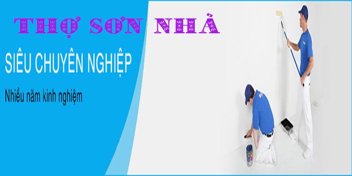 Thợ sơn nhà tại HCM (Thành Phố Hồ Chí Minh), Bình Dương, Đồng Nai. Chuyên nhận sơn nhà ở, nhà hàng, khách sạn, công ty, văn phòng, trường học tại TPHCM