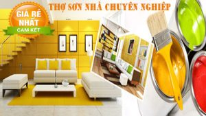 Thợ sơn nhà tại quận Phú Nhuận giá rẻ