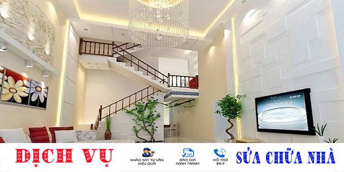 Sửa nhà Tân Bình trọn gói giá rẻ