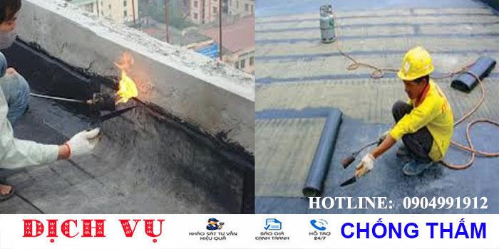 Chuyên chống thấm sân thượng tại quận Phú Nhuận