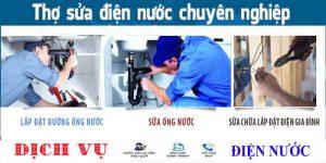 Thợ chuyên nhận sửa ống nước tại nhà quận 11 uy tín