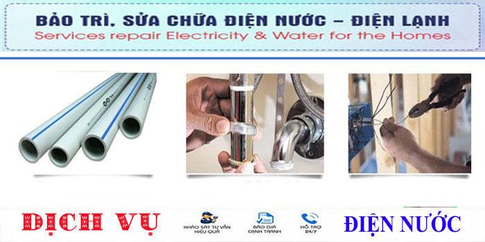 thợ chuyên nhận sửa ống nước tại quận Tân Bình uy tín