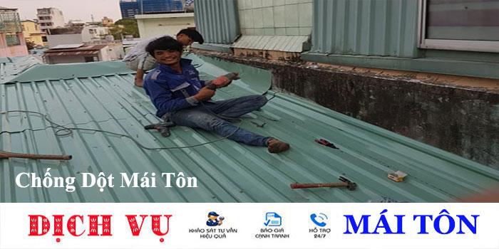 Thợ chống dột mái tôn tại TP HCM
