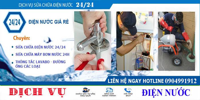 Thợ sửa điện nước tại nhà TP HCM