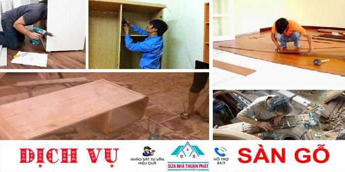Báo giá sửa chữa đồ gỗ tại nhà giá rẻ