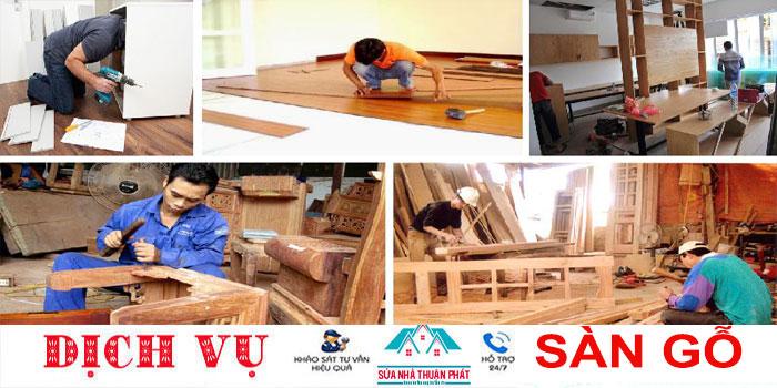 Báo giá sửa chữa đồ gỗ tại nhà