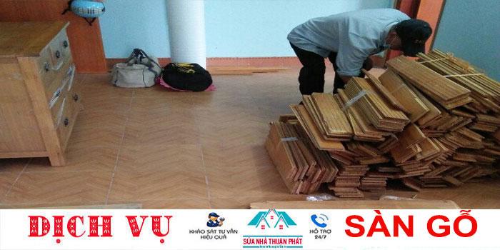 Báo giá tháo dỡ sàn gỗ giá rẻ nhất