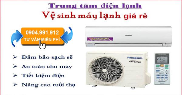 Báo giá vệ sinh máy lạnh