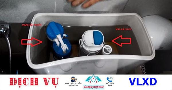 Sửa van cấp nước bồn cầu