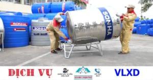 Thi công lắp đặt bồn nước