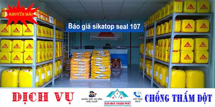 Báo giá chống thấm sikatop seal 107